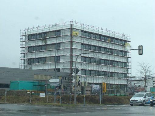 Autohaus Müller Friedrichshafen – Gerüstbauarbeiten