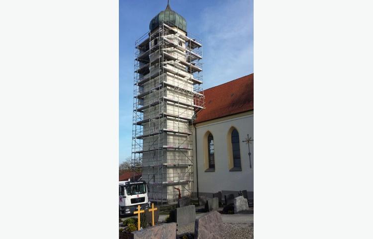 Stuckateur Kaufmann Gerüstbau Trockenbau Heggelsbach Kirche Img 0776