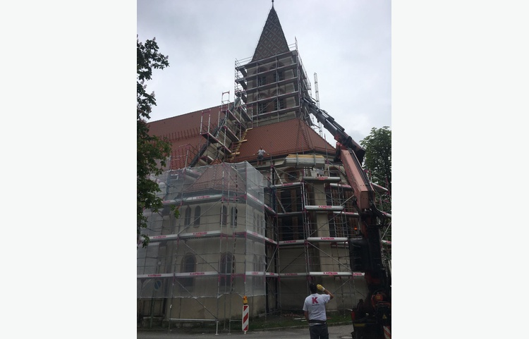 Stuckateur Kaufmann Gerüstbau Trockenbau Isny Allgäu St. Maria Kirche Img 4847