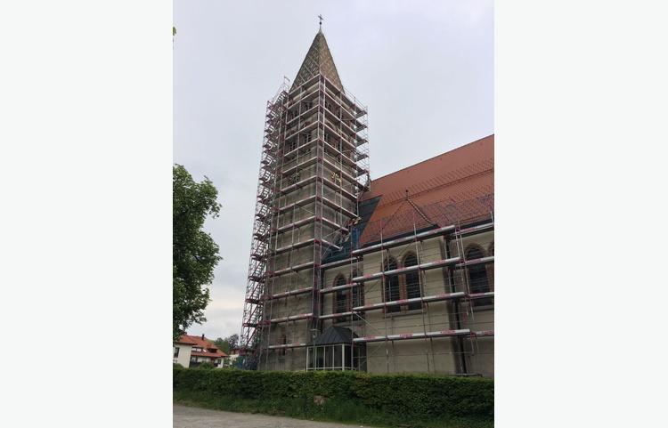 Stuckateur Kaufmann Gerüstbau Trockenbau Isny Allgäu St. Maria Kirche Img 4900