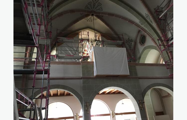 Stuckateur Kaufmann Gerüstbau Trockenbau Isny Allgäu St. Maria Kirche Img 5818
