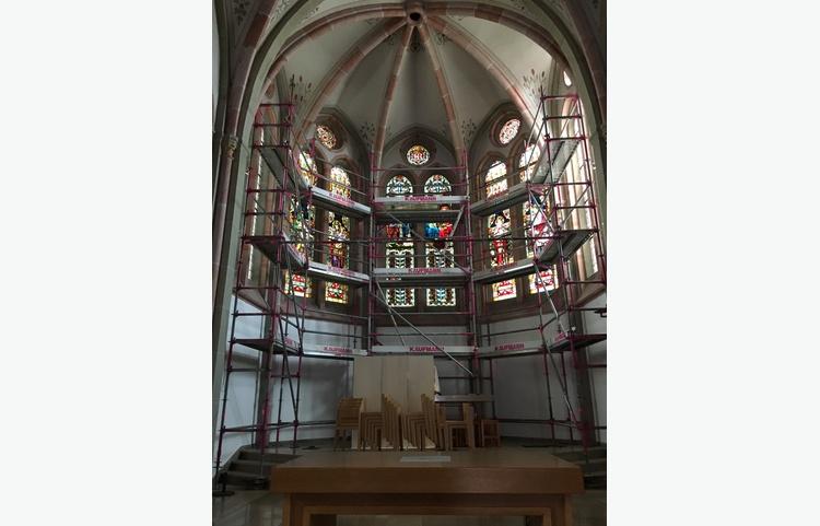 Stuckateur Kaufmann Gerüstbau Trockenbau Isny Allgäu St. Maria Kirche Img 5821