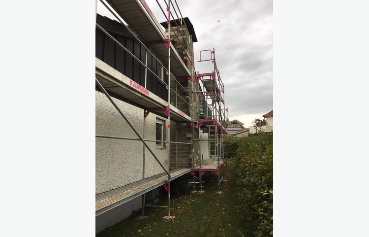 Stuckateur Kaufmann Gerüstbau Trockenbau Kisslegg Einfamilienhaus Img 6279