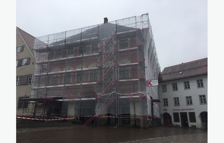 Stuckateur Kaufmann Gerüstbau Trockenbau Leutkirch Historisches Rathaus Img 4646
