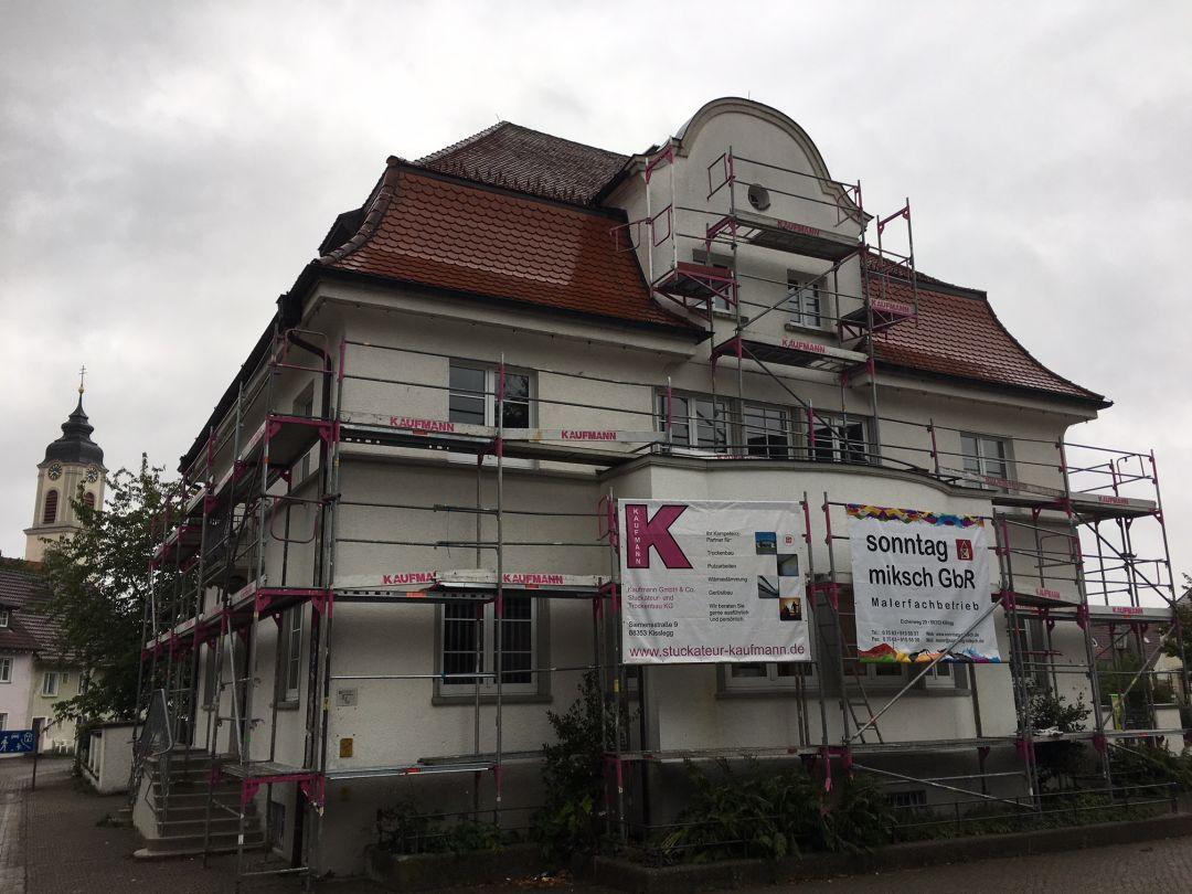 Dr. Franz Reich Haus In Kißlegg Stuckateur Kaufmann IMG 8471