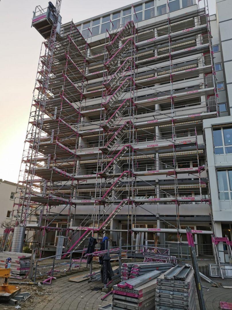 Hochhaus Bad Schussenried Haus Regenta Stuckateur Kaufmann PHOTO 2020 01 24 16 35 06